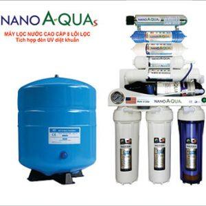 Máy lọc nước 8 lõi đèn UV