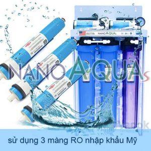 Máy lọc nước RO 50 lít thương hiêuNanoaquas