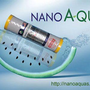 Lõi số 3 Nanoaquas than hoạt tính dạng nén