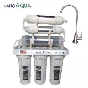 Máy lọc nước Nanoaquas 6 lõi NE6, công nghệ Nano không điện không nước thải