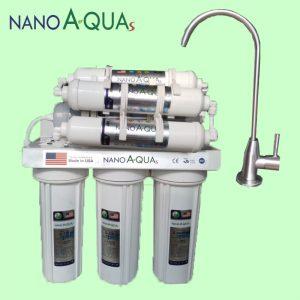 Máy lọc nước Nanoaquas 7 lõi NE7, công nghệ Nano không điện không nước thải