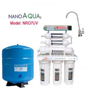 Máy lọc RO 7 lõi NRO7UV, tích hợp đèn UV