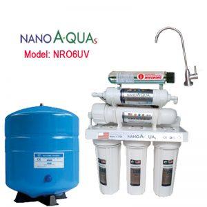 Máy lọc RO 6 lõi NRO6UV, tích hợp đèn UV