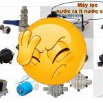 Sửa máy lọc ra ít nước