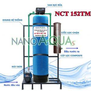 Hệ thống lọc nước tổng 2m3 h NanoAquas NCT152TM