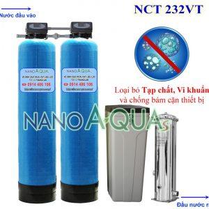 Lọc nước tổng tự động 2m3h NanoAquas NCT232VT