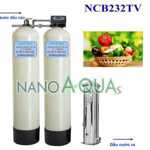 Lọc tổng cho nước sinh hoạt 2m3h