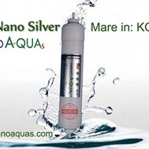 Lõi Nano Silver trong máy lọc nước RO Nanoa-quas