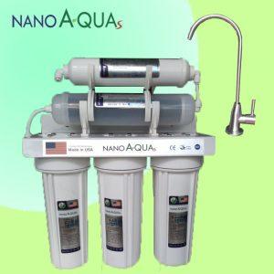 Máy lọc nước Nanoaquas 5 lõi NE5, công nghệ Nano không điện không nước thải