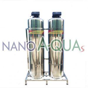 Hệ Thống Lọc Hai Cột Inox NanoAquas