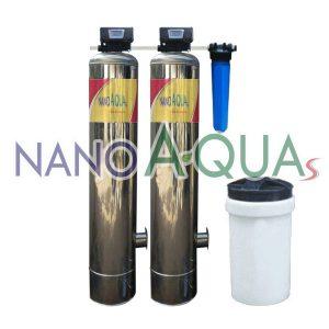 Lọc Tổng Hai Cột Inox NanoAquas