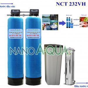 Hệ thống lọc nước tổng 2m3giờ NCT232VH