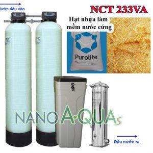 Hệ thống lọc nước tổng van tự động 2.5m3 giờ NanoAquas NCT233VA