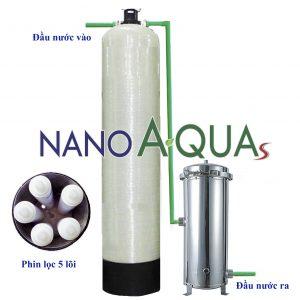 Lọc nước tổng công suất 2m3/h NanoAquas NCC152TM