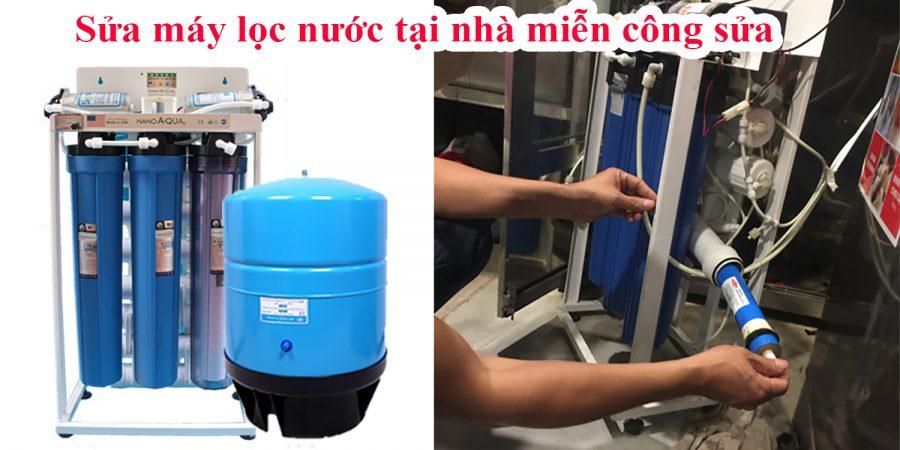 Sửa chữa máy lọc nước bán công nghiệp