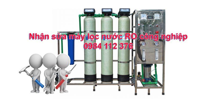 Sửa chữa máy lọc nước ro công nghiệp